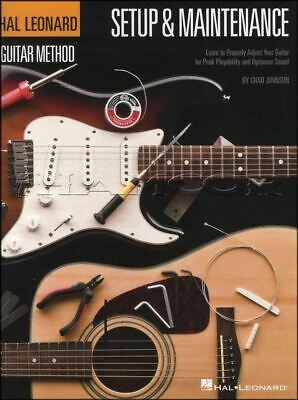 Hal Leonard Guitar Setup & Maintenance Method Electric Or Acoustic • 10.74£