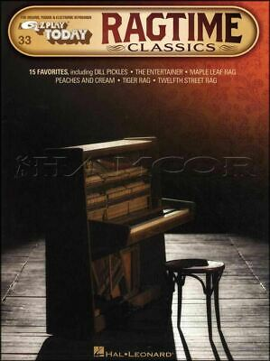 Ragtime Classics E Z Play Today Keyboard Sheet Music Book SAME DAY DISPATCH
