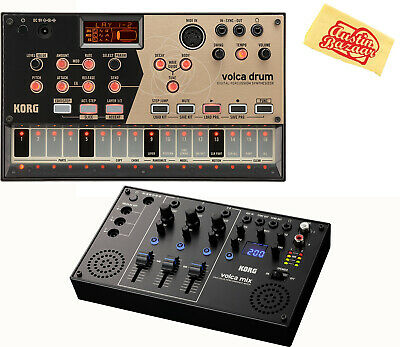 Korg Volca Drum Digital Percussion Synthesizer W/ Volca Mix • 212.93£