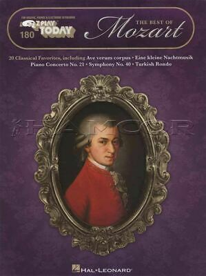 The Best of Mozart E-Z Play Today Keyboard Sheet Music Book SAME DAY DISPATCH