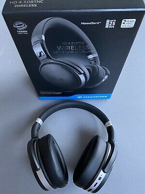 Black Sennheiser HD 4.50 BTNC Wireless Headphones • 50£