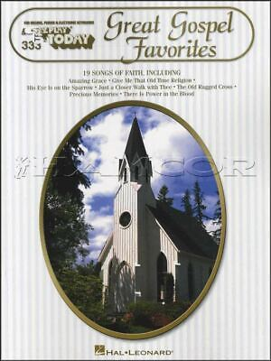 Great Gospel Favorites E-Z Play Today Keyboard Music Book SAME DAY DISPATCH