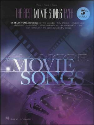The Best Movie Songs Ever Piano Vocal Guitar Sheet Music Book SAME DAY DISPATCH