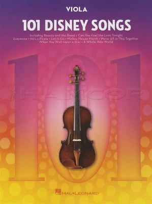 101 Disney Songs For Viola Sheet Music Book Frozen Lion King Toy Story Moana • 12.30£