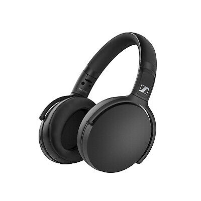 Sennheiser HD 350BT Bluetooth 5.0 Wireless AptX Headphones - Black (508384) • 109£