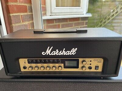 Marshall Code 100 Head And 4x12 Cab With Code Footswitch • 350£