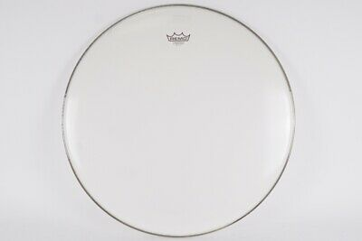 """Remo 24"""" Powerstroke 3 Smooth White Batter Bass Drum Head • 30£"""