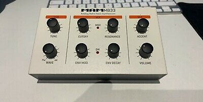 MAM MB33 Analog Retro Bass Synthesizer. 303 Analog Clone  • 75£