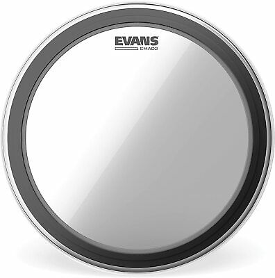 Evans BD22EMAD2 EMAD 2 22-inch Bass Drum Head - BD22EMAD2