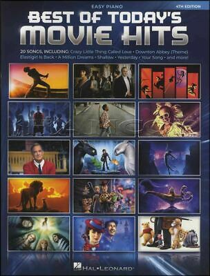 Best of Today's Movie Hits for Easy Piano Sheet Music Book SAME DAY DISPATCH
