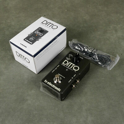 TC Electronic Ditto Stereo Looper FX Pedal W/Box - 2nd Hand • 87£