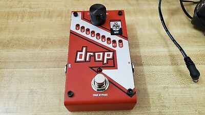 Digitech The Drop Polyphonic Drop Tune Pitch-Shifter Guitar Effects Pedal • 129.52£