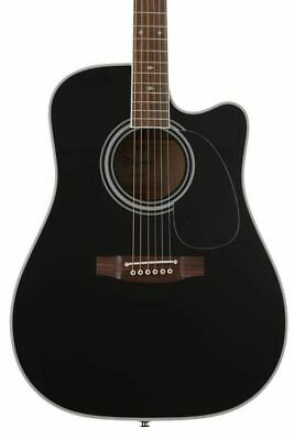 Takamine EF341SC Acoustic-Electric Guitar (With Case) Black • 904.55£
