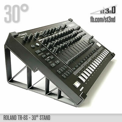 ROLAND TR-8S STAND - 30 Degrees - 3D Printed- 100% Buyers Satisfaction • 27.36£