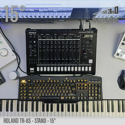 ROLAND TR-8S STAND - 15 Degrees - 3D Printed- 100% Buyers Satisfaction • 23.76£