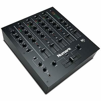Numark M6 USB - 4-Channel DJ Mixer With Built-In Audio Interface, 3-Band EQ, • 209.99£