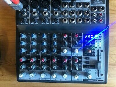 Behringer XENYX 1202FX Small Format 12 Channel Mixer With 99 Fx Functions • 40£