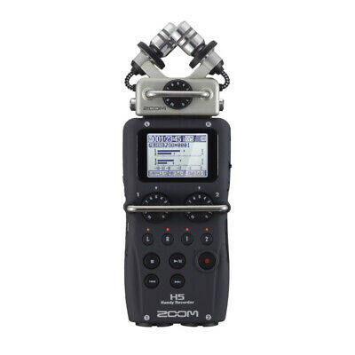 Zoom H5 Handy Digital Audio Recorder With Interchangeable Microphone • 229£