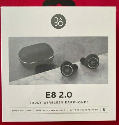 Bang & Olufsen Beoplay E8 2.0 Motion True Wireless Bluetooth Earbuds Black • 149£