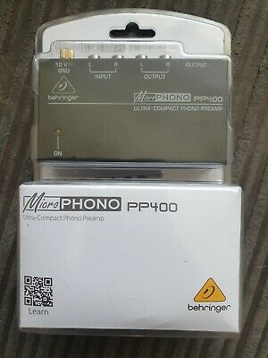 Behringer PP400 Microphono Ultra Compact Phono Preamp  • 25£