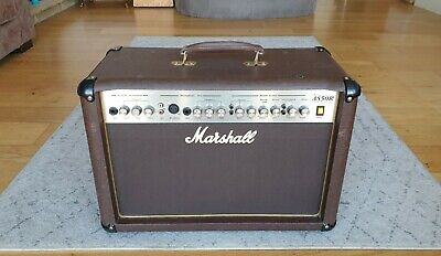 Marshall AS50R 50W Acoustic Guitar Amplifier • 150£