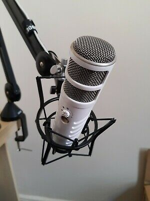 Rode Podcaster USB Mic PSA1 Studio Boom Arm And Shock Mount Ideal For YouTube • 160£