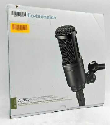Audio-Technica AT2020 Cardioid Condenser Microphone -NR4309 • 61.21£