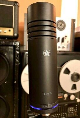 Aston Stealth Cardioid Dynamic Microphone Studio Live Podcast Vocal Next-day • 220£