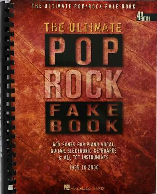 The Ultimate Pop Rock Fake Book For C Instruments Book • 11.41£