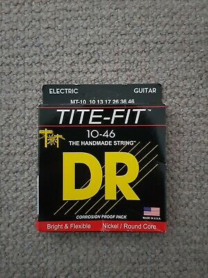 DR Handmade Tite Fit MT-10 10-46 Electric Guitar Strings NEW