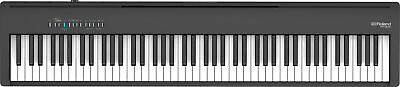 Roland FP-30X-BK Portable Piano W/ Built In Speakers, Bluetooth - Black • 531.17£