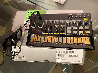 Korg Volca Beats Analogue Synthesizer With Mains Power Adaptor • 66£