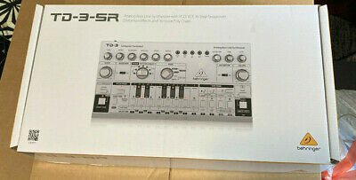 Behringer TD3SR Analog Bass Line Synthesizer - Silver • 84.99£