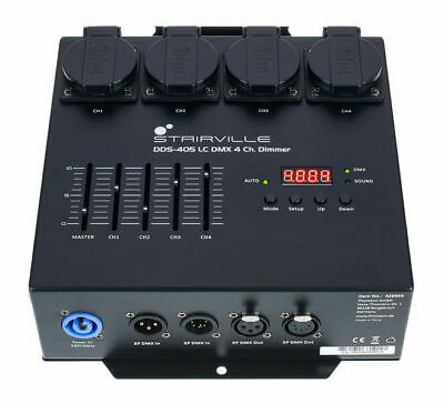 Stairville DDS-405 LC DMX 4 Ch Dimmer, Boxed New. • 60.21£