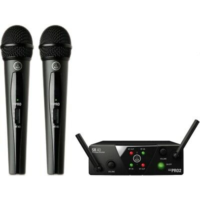 AKG WMS40 Mini2 Dual Vocal Set Wireless Microphone System • 127.06£