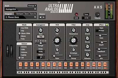 Applied Acoustics Systems Ultra Analog Session 2 License Transfer • 4£