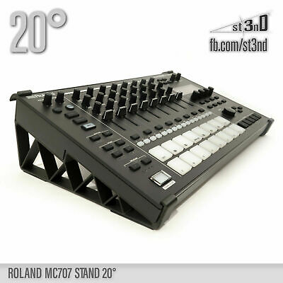 ROLAND MC-707 STAND - 20 degrees - 3D printed- 100% Buyers Satisfaction