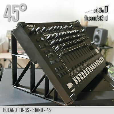 ROLAND TR-8S STAND - 45 Degrees - 3D Printed- 100% Buyers Satisfaction • 30.63£