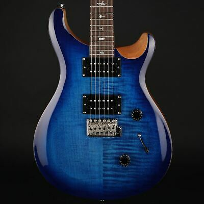 PRS SE Custom 24 in Faded Blue Burst with Gig Bag #C44144 - Pre-Owned