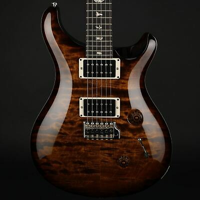 PRS Custom 24 Electric Guitar in Black Gold Wrap Burst with Pattern Thin Neck
