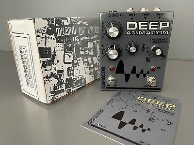 ⭐️ DEATH BY AUDIO Deep Animation, rare auto-wah/envelope filter guitar pedal ⭐️