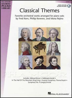 Classical Themes 2 Piano Library Sheet Music Book with Audio