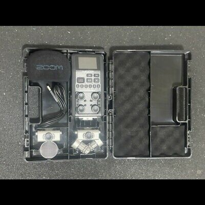 Zoom H6 6-Input / 6-Track Portable Handy Recorder with Mulitple Mics