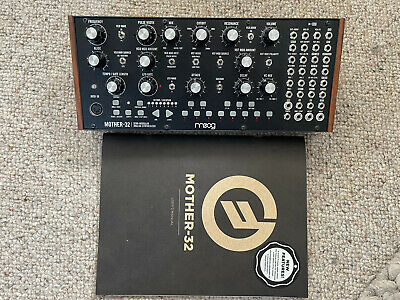 Moog Mother-32 Semi-Modular Synth - barely used