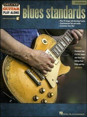 Blues Standards Deluxe Guitar Play-Along TAB Music Book/Audio SAME DAY DISPATCH