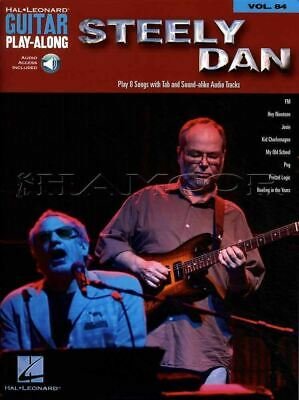 Steely Dan Guitar Play-Along TAB Music Book with Audio FM Peg SAME DAY DISPATCH