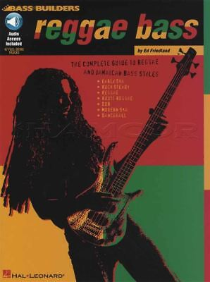 Reggae Bass Guitar Tab Music Book with Audio Learn How to Play Method