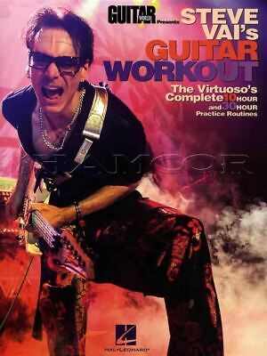 Steve Vai's Guitar Workout TAB Book Practice Routines SAME DAY DISPATCH