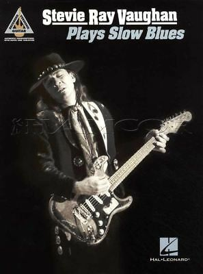 Stevie Ray Vaughan Plays Slow Blues Guitar TAB Music Book Brothers Tin Pan Alley