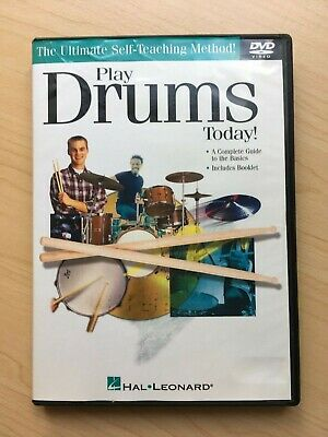 Hal Leonard Play Drums Today Complete Guide To The Basics DVD